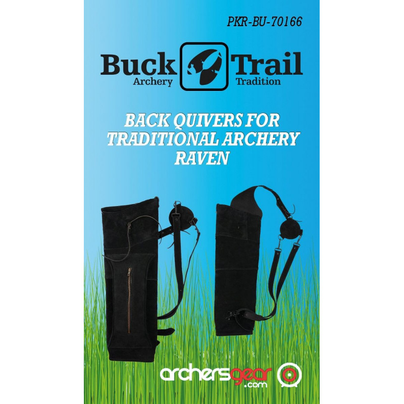 Carquois Buck Trail Raven