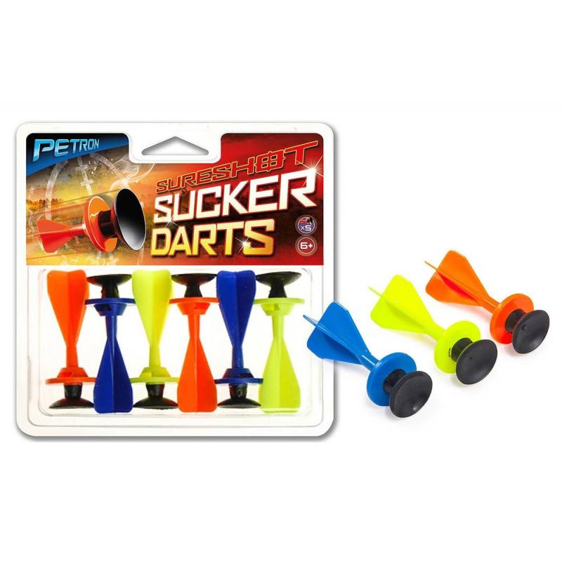 lot de 6 projectiles Petron pour jouet