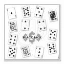 Blason jeux Black Jack