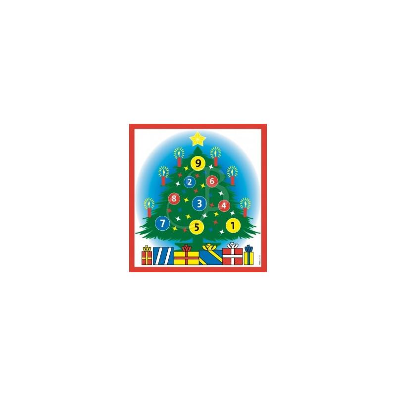 Blason jeux  sapin de Noël