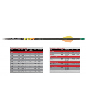 Carbon Express tube Medaillon-XR