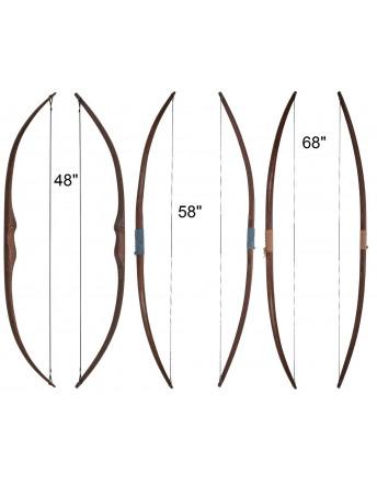 Arc longbow hybride Rattan