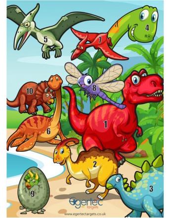 Blason dinosaure