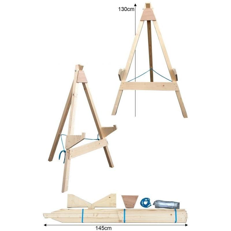 chevalet bois avalon sporting archerie. Black Bedroom Furniture Sets. Home Design Ideas