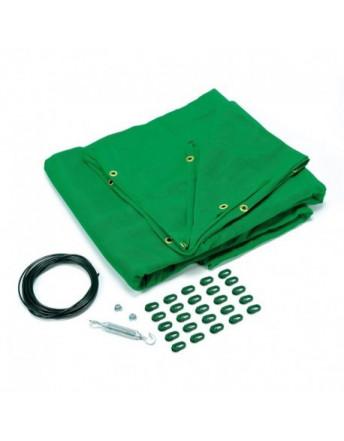 Filet de protection vert
